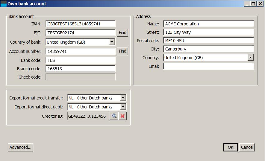 Manual - IBANC SEPA Software